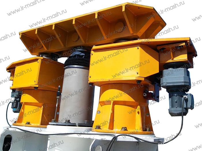 Комплекс гидравлический для подъёма поворотной платформы экскаваторов КГПЭ4-125