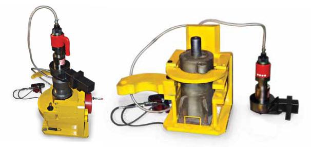 Установка для сборки и разборки эластомерного поглощающего аппарата автосцепки УРПЭА-1