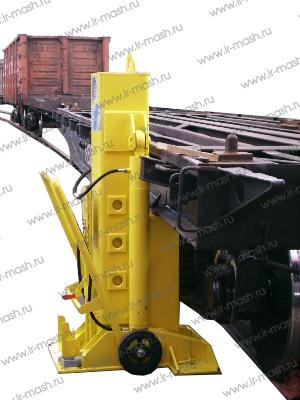Установка домкратная передвижная для подъема вагонов и локомотивов УДП