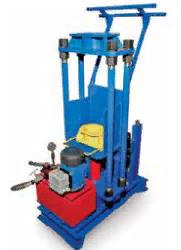 Установка для сборки и разборки пружинно-фрикционных поглощающих аппаратов грузовых вагонов